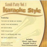 Sandi Patty Volume 1, Karaoke Style, As Made Popular by Sandi Patty, CD+G