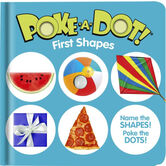 First Shapes, Poke-a-Dot Book, by Melissa & Doug, Board Book