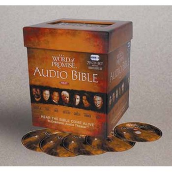 NKJV The Word of Promise Dramatized Audio Bible, 79 CDs