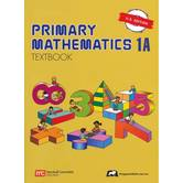 Singapore Math, Primary Math Textbook 1A, U.S. Edition, Paperback, 88 Pages, Grades 1-2