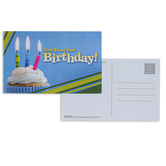 Broadman Church Supplies, God Bless Your Birthday Postcards, 5 1/2 x 3 1/2 inches, Set of 25