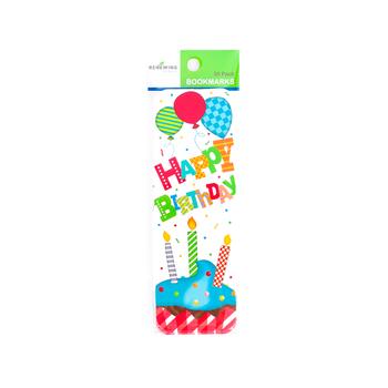 Renewing Minds, Happy Birthday Bookmarks, 36 Pieces