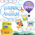 Renewing Minds, Travel and Adventure Bulletin Board Set, Multi-Colored, 47 Pieces