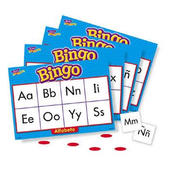 Trend, Bingo de Alfabeto (Spanish Alphabet), Ages 4 Years and Older, 3 to 36 Players