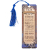 Salt & Light, The Ten Commandments Tassel Bookmark, 2 1/4 x 7 inches