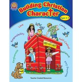 Teacher Created Resources, Building Christian Character Activity Book, Reproducible, 144 Pages, Ages 5-9