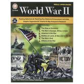 Carson-Dellosa, World War II Workbook, Paperback, 128 Pages, Grades 6-12