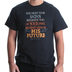 Red Letter 9, Remind Him Of His Future, Men's Short Sleeve T-Shirt, Black, Small