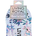 Living Royal, Psalm 46:10, Be Still Liner Socks, Polyester, Blue, One Size Fits Most