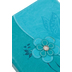 Divinity Boutique, Butterfly with Flower Bible Cover, Teal, Large