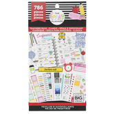 MAMBI The Happy Planner Value Pack Stickers Teachers Rule Classic Teacher, Multi-Colored, 786 Pieces