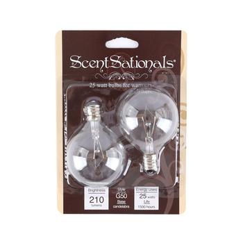 ScentSationals, Warmer Replacement Bulbs, 25 Watt, 2 Bulbs