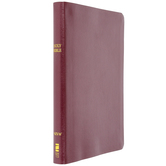 NIV Thinline Bible, Large Print, Bonded Leather, Thumb Indexed, Multiple Colors Available