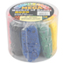 The Beadery, Wonder Loom Mega Bucket of Bands, 8 Primary Colors, 8,000 Pieces, Grades 3-8