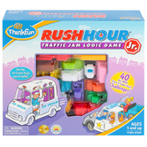 ThinkFun, Rush Hour Jr: Traffic Jam Logic Game, Single Player, Ages 5 and Older