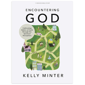 Encountering God Bible Study Book, by Kelly Minter, Paperback