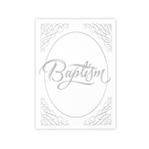 Warner Press, Baptism Certificates and Envelopes, 5 x 7 inches, Set of 6