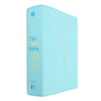 NIV The Jesus Bible, Imitation Leather, Multiple Colors Available