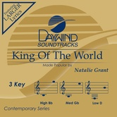 King Of The World, Accompaniment Track, As Made Popular by Natalie Grant, CD
