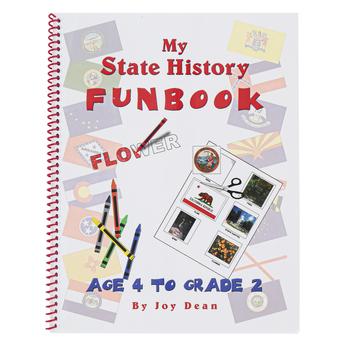 A Helping Hand, My State History Funbook South Carolina Set, Grades PreK-2