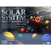 4M, 3-D Glow in the Dark, Solar System Mobile Making Kit