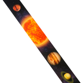 Renewing Minds, Wide Border Trim, 38 Feet, Solar System, Multi-Colored