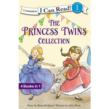 The Princess Twins Collection, I Can Read, Level 1, by Mona Hodgson and Julie Olson, Hardcover