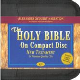 KJV New Testament, read by Alexander Scourby, 14 CDs