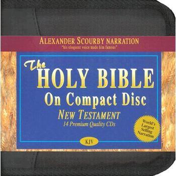 KJV New Testament, read by Alexander Scourby, 14 CDs