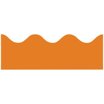 Renewing Minds, Scalloped Border Trim, 38 Feet, Orange