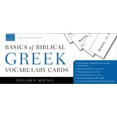 Basics of Biblical Greek Vocabulary Cards, by William D. Mounce, 1,000 Cards