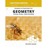 Master Books, Jacobs Geometry, Solutions Manual, 3rd Edition, Paperback, 276 Pages, Grades 10-12