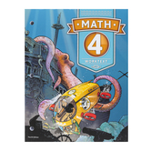 BJU Press, Math 4 Student Worktext, 4th Edition, Paperback, Grade 4