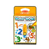 Melissa & Doug, Water Wow! Numbers Reveal Pad, Ages 3 to 5 Years Old, 5 Pieces