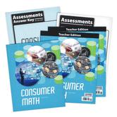 BJU Press, Consumer Math Complete Subject Kit, 3rd Edition, Box Set, Grades 11 or 12