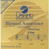 Blessed Assurance, Accompaniment Track, As Made Popular by Third Day, CD