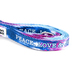 Kerusso, Paws and Pray, Colossians 3:15 Peace Love & Jesus Pet Leash, Polyester Webbing, Tie Dye, 60 inches