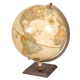 "Antique Ocean Desk Globe 12"""