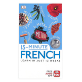 DK, 15 Minute French Resource Book, 4th Ed, Paperback, Grades 9 and up