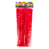 Tree House Studio, Chenille Stems Value Pack, Red, 6mm x 12 inches,140 Count