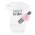 Brother Sister Design Studio, Mommys Bestie Onesie with Headband, 2 Piece Set