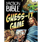 David C. Cook, Action Bible Guess It Card Game, Ages 8 Years and Older, 2 or More Players