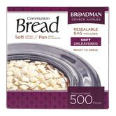 Broadman Church Supplies, Soft Communion Bread, 500 Pieces
