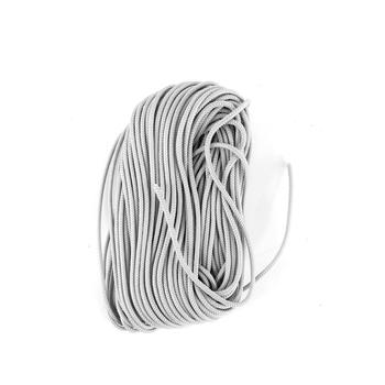 #95 Parachute Cord, Silver, 3/16 inches x 50 feet