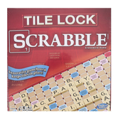 Winning Moves Games, Scrabble: Tile Lock Edition Word Game, Ages 8 and Older, 2 to 4 Players
