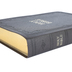 KJV Reference Bible, Super Giant Print, Imitation Leather, Dark Brown