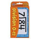 TREND enterprises, Inc., Division 0-12 Pocket Flash Cards, 56 Cards, 3 1/8 x 5 1/4 inches, Ages 8-10