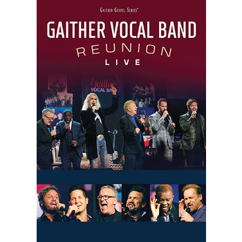 Reunion Live, by Gaither Vocal Band, DVD