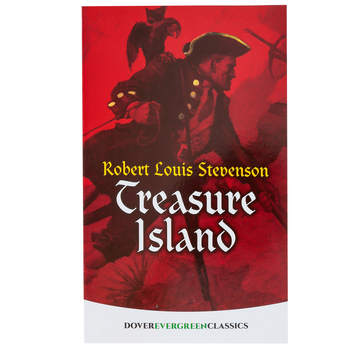 Treasure Island, by Robert Louis Stevenson, Paperback, 272 Pages, Grades 4 and up