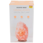 Sharper Image, Himalayan Salt Lamp, Pink, 9 inches